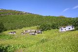 Bredekfossen_215_07092019 - Making it back up to the Bredek Farm where it was now clear skies
