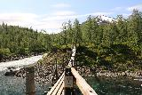 Bredekfossen_242_07092019 - Looking back over the swinging bridge over Stormdalsaga