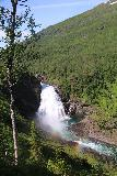 Bredekfossen_287_07092019 - Another direct look at Bredekfossen with a double rainbow fronting it in its mist