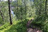 Bredekfossen_338_07092019 - Descending the trail towards the other trailhead at Stormdalshei