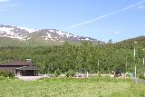 Bredekfossen_393_07092019 - Looking in the direction of some playground and building near the place where I parked to start the Bredekrunden hike