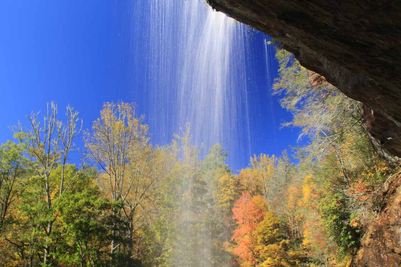 A North Carolina Waterfall