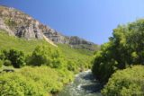 Bridal_Veil_Falls_Provo_008_05282017 - Looking east from the bridge along Provo River in late May 2017