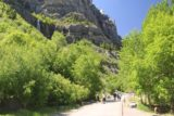 Bridal_Veil_Falls_Provo_028_05282017 - Last look back at the busy bike and pedestrian path before the Bridal Veil Falls along the Provo River in late May 2017