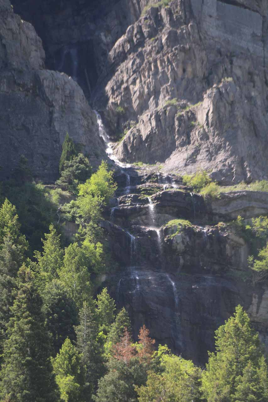 This was about as much of the Upper Falls as I was able to see from the picnic area