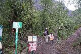 Bridal_Veil_Falls_Telluride_020_07222020 - Julie and Tahia starting on the hike up the new Bridal Veil Creek Trail