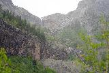 Bridal_Veil_Falls_Telluride_084_07222020 - Looking towards Ingram Falls and its extensive sloping cascades further downstream of its main drop