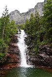 Bridal_Veil_Falls_Telluride_143_07222020 - Frontal view of the first of the intermediate cascades on Bridal Veil Creek