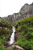 Bridal_Veil_Falls_Telluride_196_07222020 - Looking towards the second cascade on Bridal Veil Creek backed by some impressive cliffs