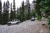 Bridal_Veil_Falls_Telluride_264_07222020 - During our visit to the base of Bridal Veil Falls, there were a couple of jeeps driving back down to the lookout area. Clearly, they let their vehicles do all the work to get here
