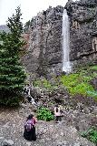 Bridal_Veil_Falls_Telluride_276_07222020 - Julie and Tahia finally getting to enjoy their well-earned visit of the Bridal Veil Falls
