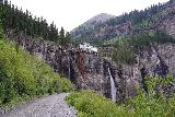 Bridal_Veil_Falls_Telluride_350_07222020 - Context of the approach to the next switchback on the way up to the power station