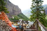 Bridal_Veil_Falls_Telluride_445_07222020 - The power station at the top of Bridal Veil Falls was closed so it was a rather underwhelming reward for all the trouble it took to get up here