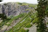 Bridal_Veil_Falls_Telluride_458_07222020 - Context of the continuation of the 4wd road leading up towards the brink of Ingram Falls