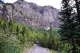 Bridal_Veil_Falls_Telluride_546_07222020 - Context of the 4wd road as I descended it back towards the trailhead to finish off this excursion to Bridal Veil Falls