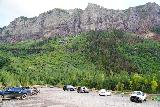 Bridal_Veil_Falls_Telluride_612_07222020 - Back at the trailhead parking lot, it was considerably emptier given how late in the afternoon it was (as most people looked to have some dinner by this time)