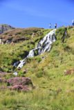 Brides_Veil_006_08262014 - As you can see some people already made it to the top on both sides of the stream.  Perhaps I should've taken a clue from these folks and gotten to the other side as well for that photo of Old Man Storr with the Bride's Veil together