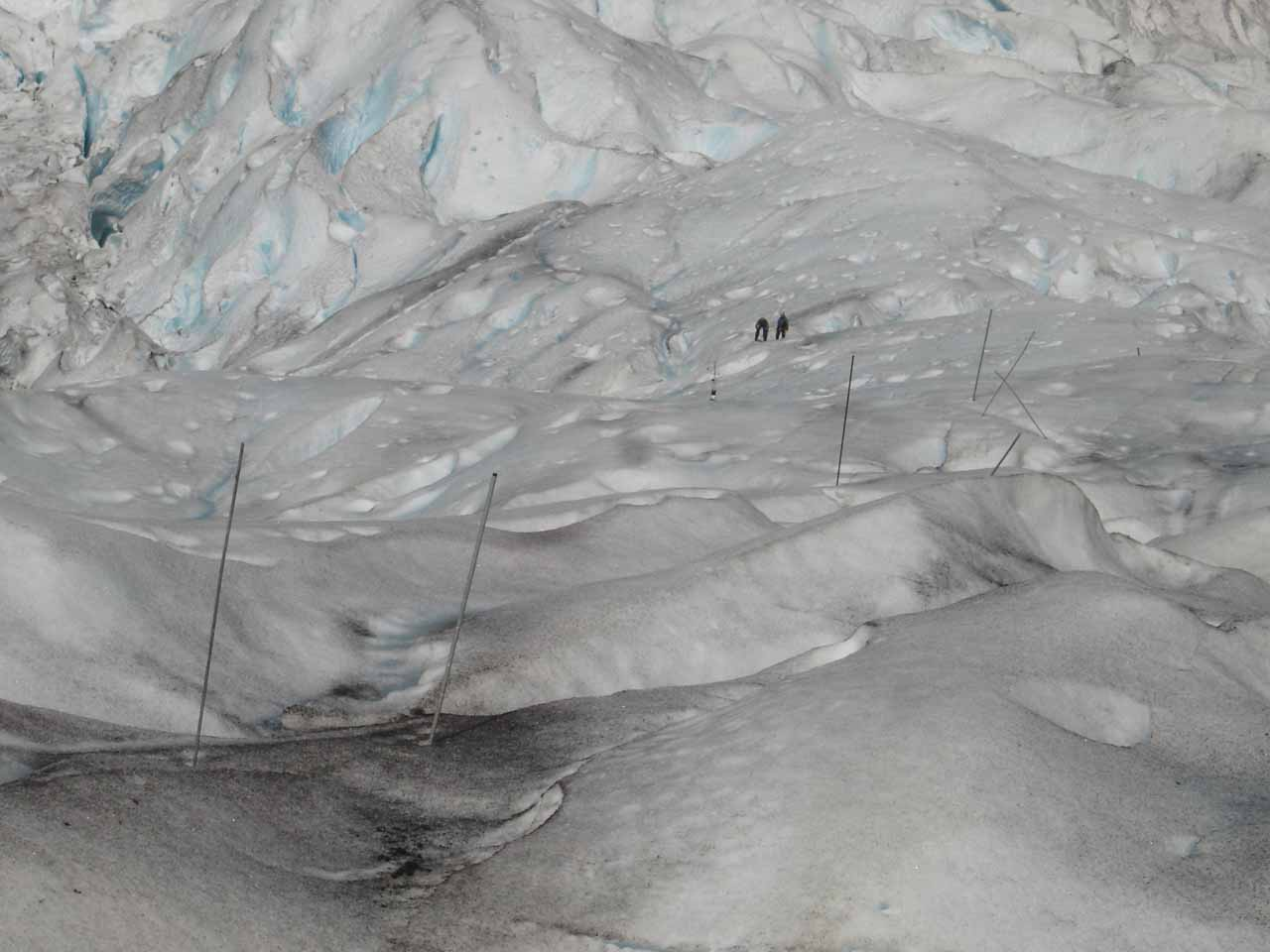 We noticed there were some people doing a glacier walk atop Briksdalsbreen
