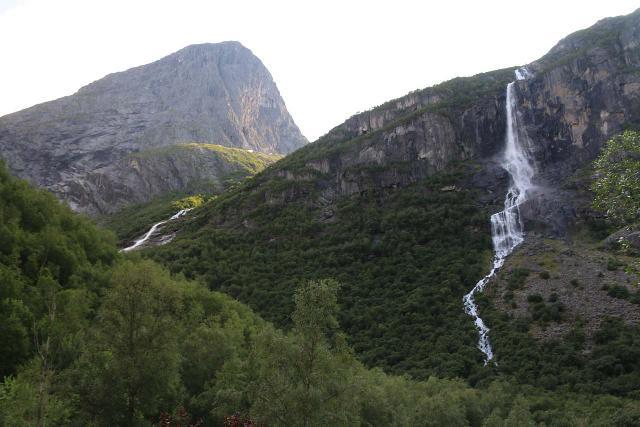 Briksdalsbreen_108_07192019 - Next to Volefossen was another cascade on the Svadåna Stream Volefossen and the Melkevollbreen