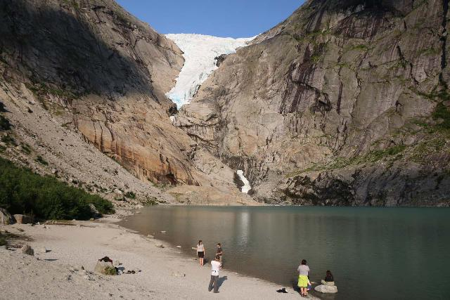 Briksdalsbreen_342_07192019 - Looking towards the Briksdal Glacier as of my latest visit in July 2019