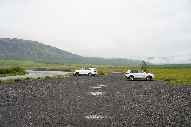 Bruarfoss_003_08062021 - This was the official car park for the Brúarfoss hike