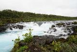 Bruarfoss_130_08062021 - Looking towards perhaps the uppermost of the waterfalls comprising Miðfoss