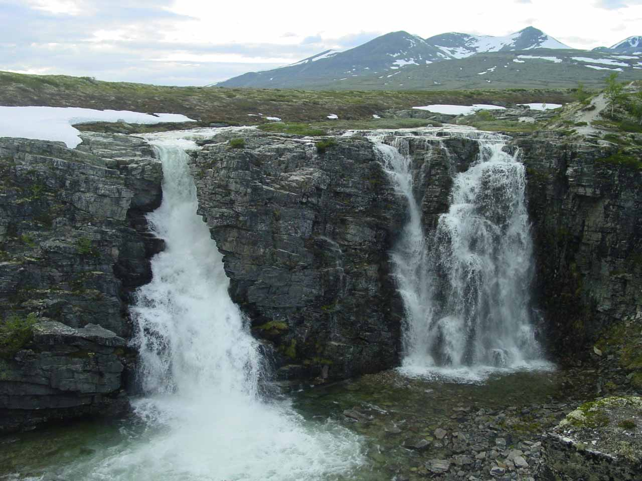 A Central Norway Waterfall