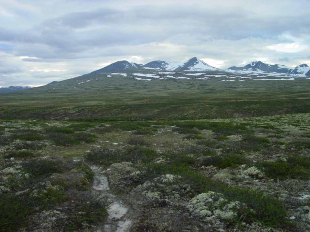 Bruresloret_023_07012005 - This was the wide open tundra of Rondane National Park that I was faced with while trying to figure out where I was supposed to walk to get to Storulfossen