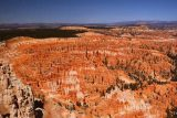 Bryce_Canyon_Inspiration_Pt_047_04032018 - Looking over the highly concentrated hoodoos of the Silent City from a higher vantage point at Inspiration Point