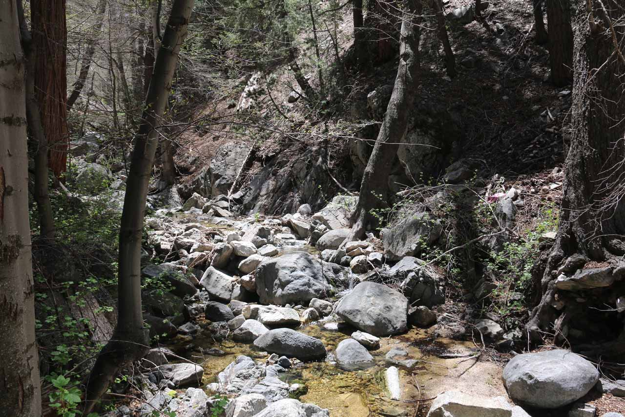 More bouldering within Buckhorn Creek