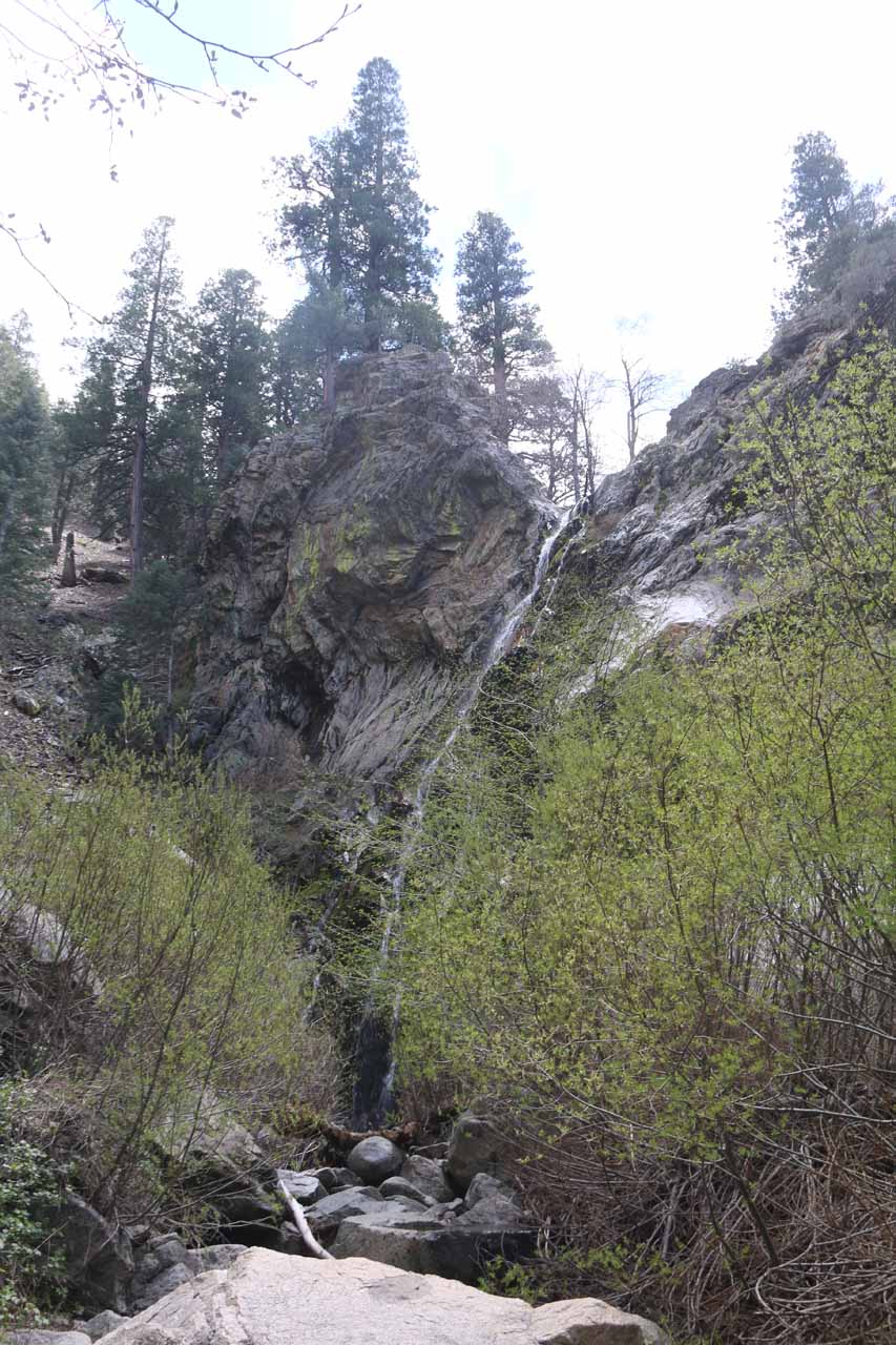 Closer look at the entirety of Buckhorn Falls