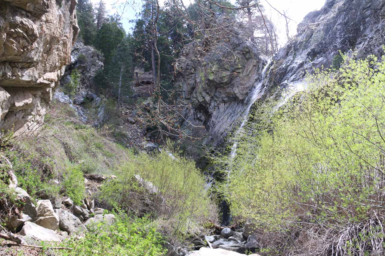 The elusive Buckhorn Falls, which required quite the scramble to reach
