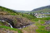 Budararfoss_036_08112021 - Looking downstream across the bottom of Budararfoss towards Seydisfjordur