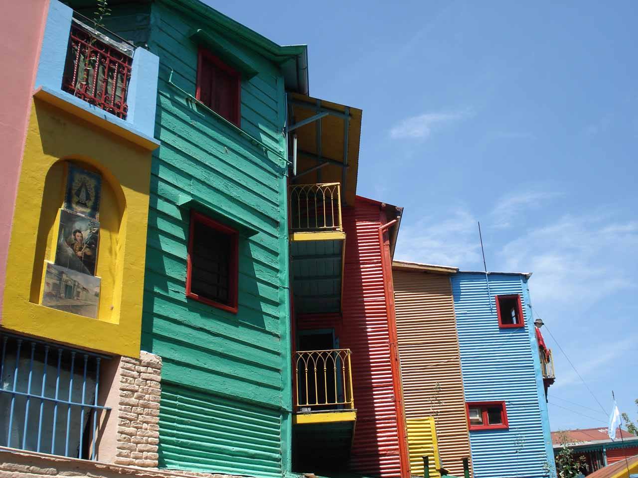 Colorful houses in El Caminito
