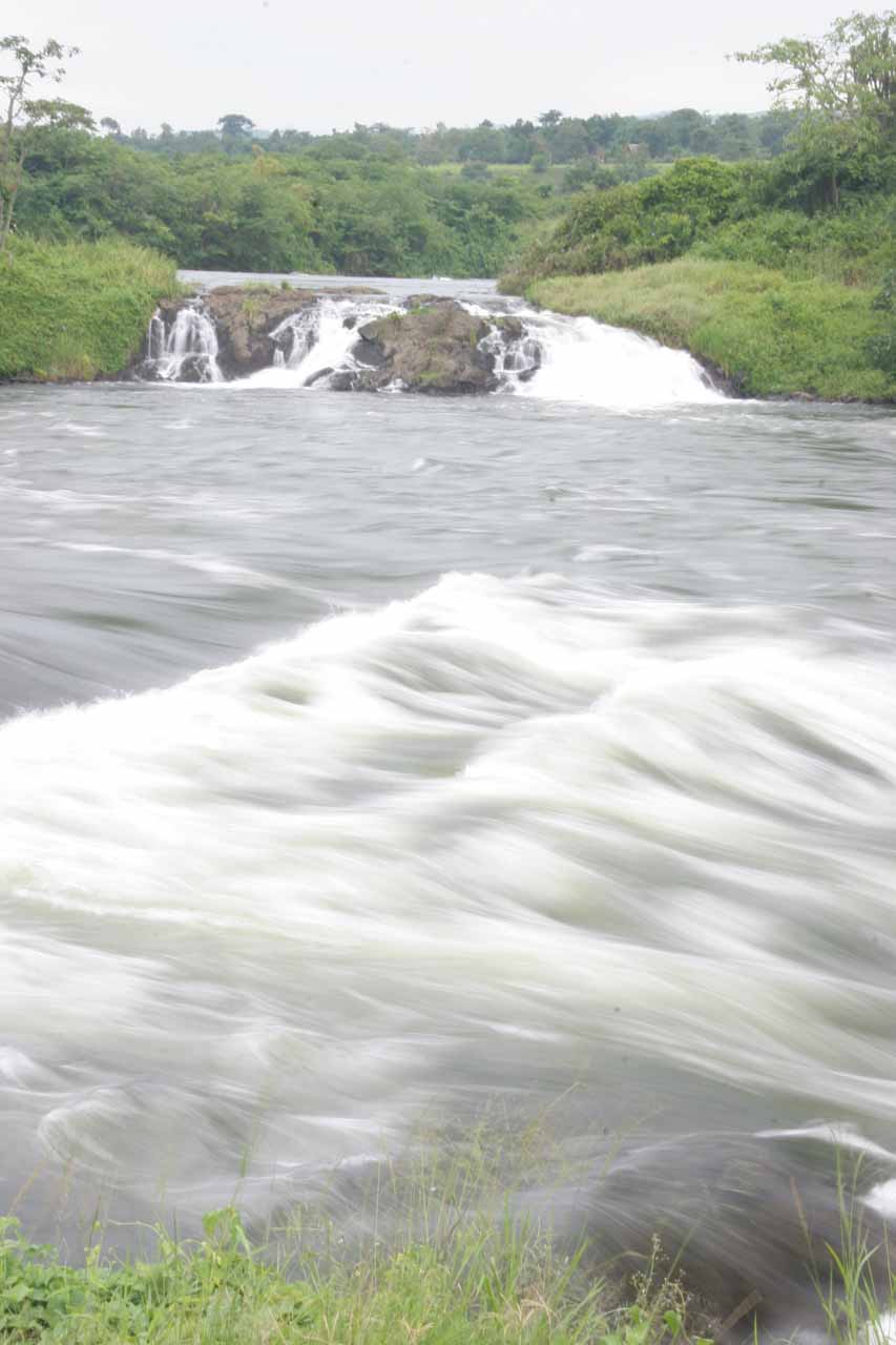 The rapids of Bujagali Falls