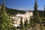 Bumpass_Hell_053_07122016 - Our first glimpse down towards Bumpass Hell as we started to make the final descent