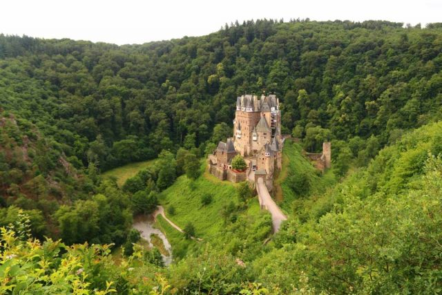 Burg_Eltz_024_06172018 - Also near the Moselle River was the isolated fantasy-like castle of Burg Eltz, which managed to remain intact for about seven centuries as well as being Rick Steves' favorite castle in all of Europe