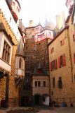 Burg_Eltz_069_06172018 - The attractive courtyard surrounded by tall towers at Burg Eltz