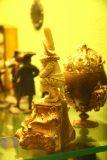 Burg_Eltz_093_06172018 - A comical pooping figurine shown at the treasury at Burg Eltz