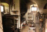 Burg_Hochosterwitz_037_07112018 - Checking out a blacksmith room within the Burg Hochosterwitz