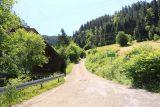 Burgbach_Waterfall_010_06222018 - Walking the local road leading up to the Burgbach Waterfall