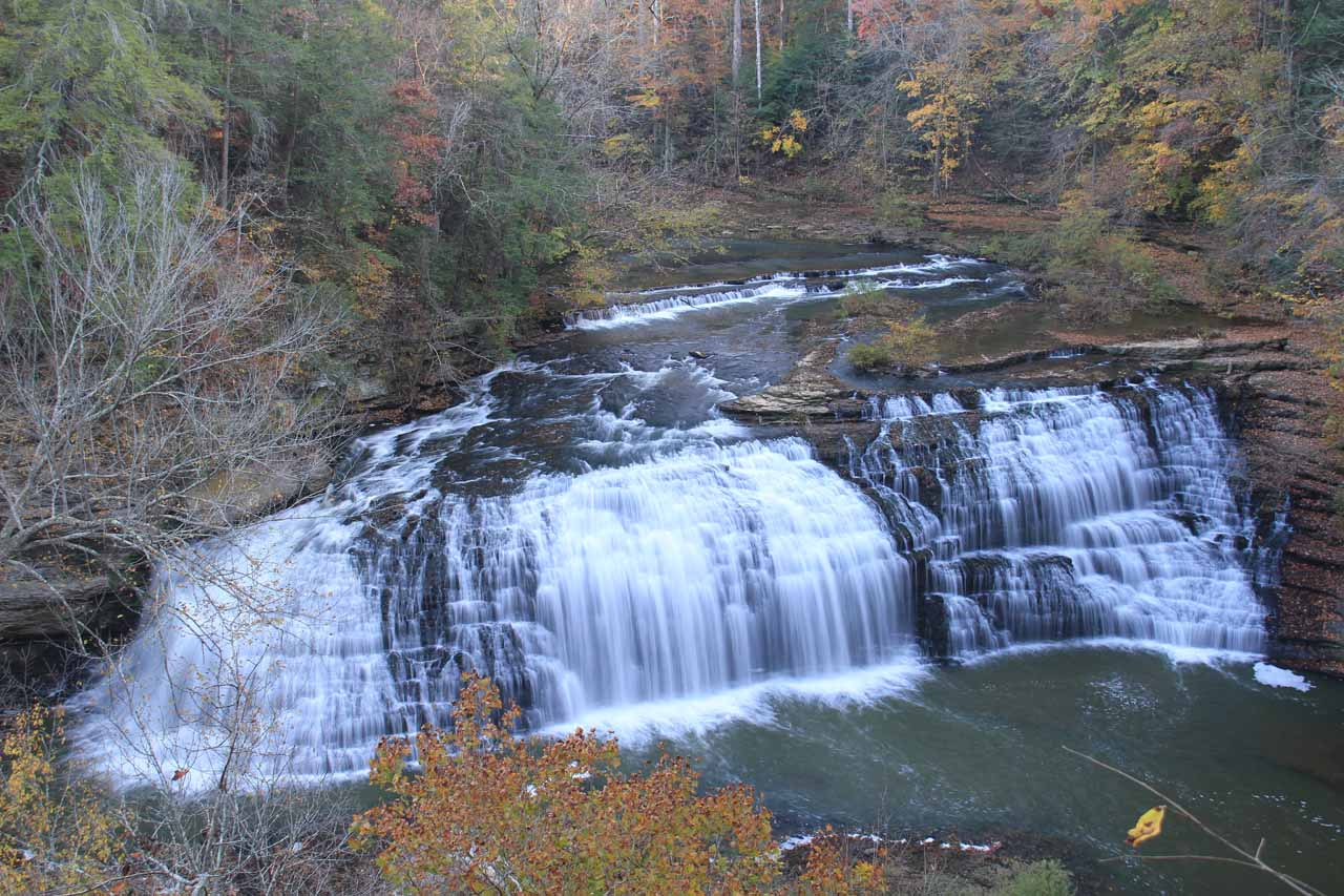 The picturesque Middle Falls