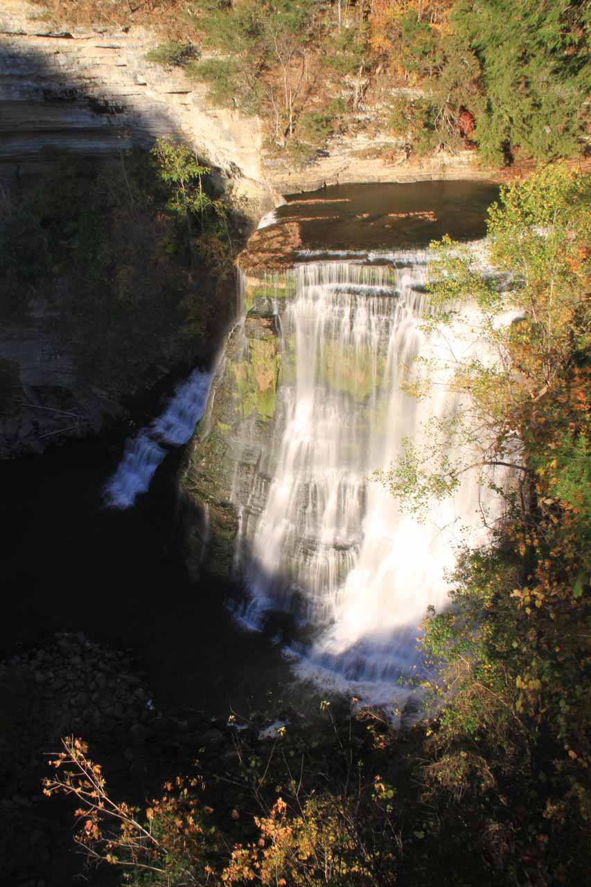 The big falls of Burgess Falls