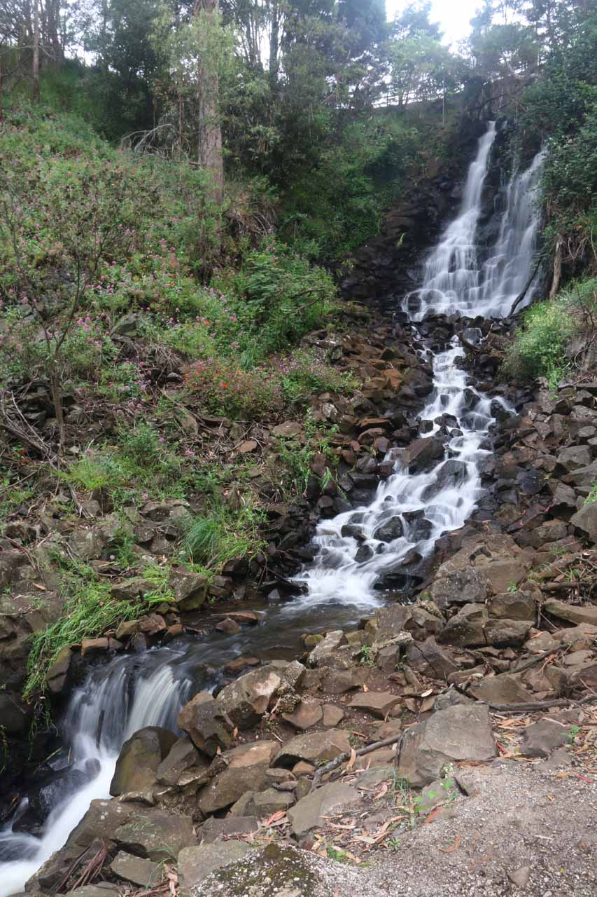 As you can see, Oldaker Falls was a fairly long cascade