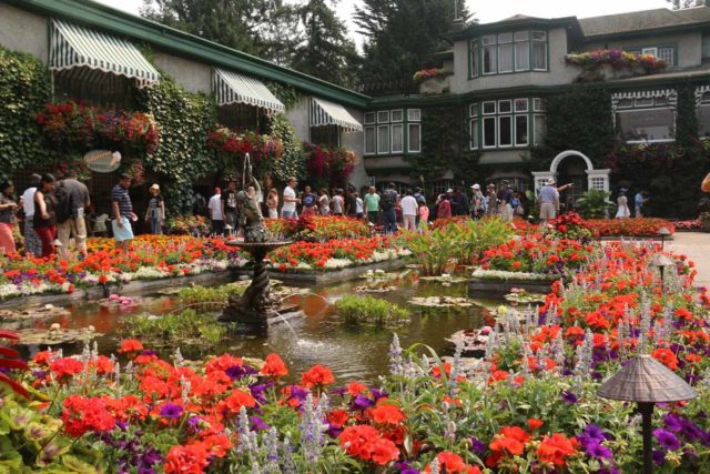 Butchart_Gardens_061_08022017 - The famous Butchart Gardens was very close to Sidney (where the Schwartz Bay Ferry Terminal was), and it was on the way to Goldstream Provincial Park