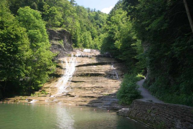 Buttermilk_Falls_001_06162007 - One of the cascades comprising Buttermilk Falls