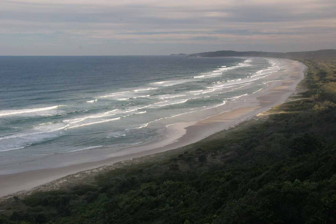 Although it was a 3-hour drive between Byron Bay and Browns Falls, we still enjoyed the fact that we could stay in a place that seemed to have a youthful vibe to it while still being by the Pacific