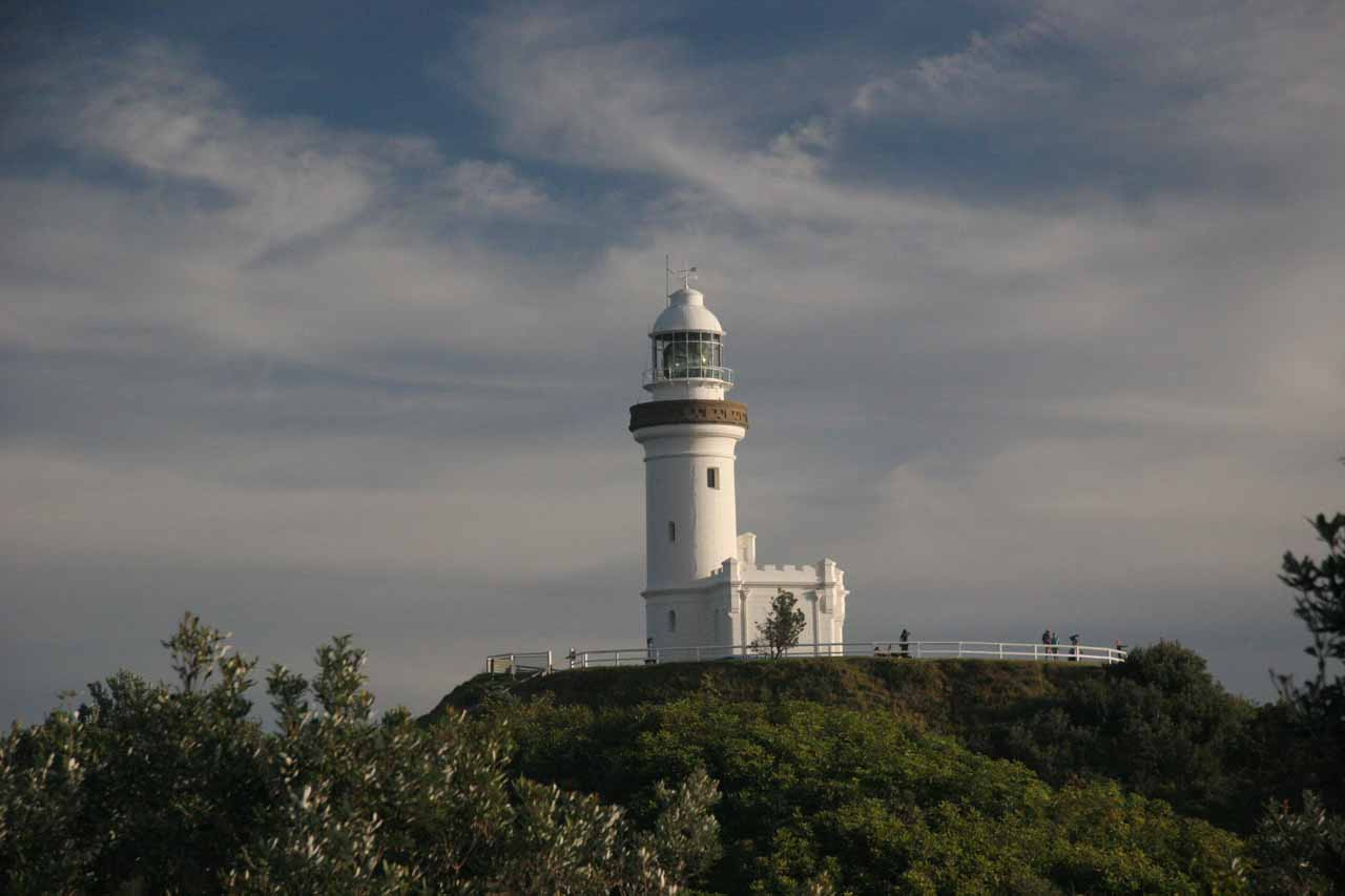 We used Byron Bay as the base of our visit to Nightcap National Park, but the happening indie vibe of this Splendour in the Grass town also featured this lighthouse with nice views over the Pacific
