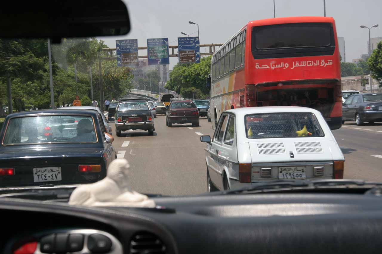 Dealing with Cairo traffic