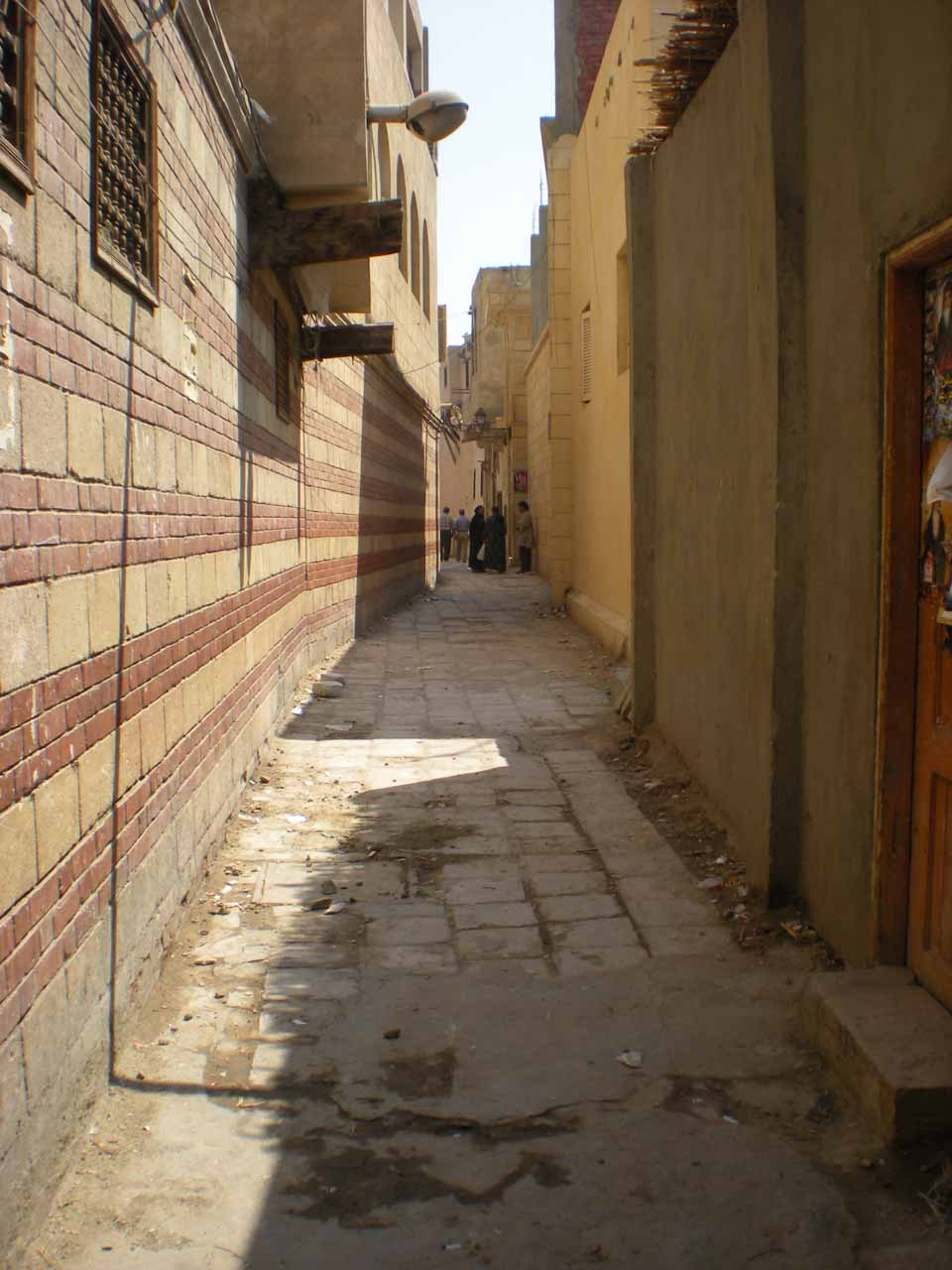 Coptic Cairo street